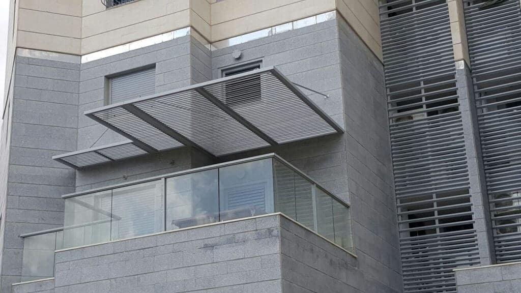 פרגולות אלומיניום למרפסת