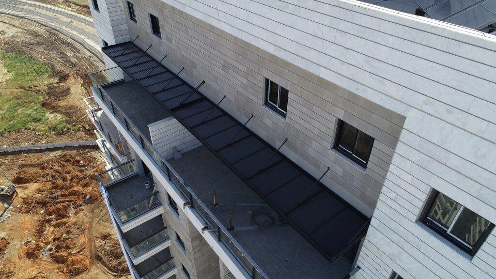פתרונות הצללה למרפסת גג